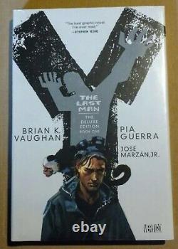 Y THE LAST MAN VOL. 1 2 3 4 5 Complete Deluxe Vaughan Guerra HARDCOVER BRAND NEW