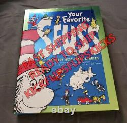Your Favorite Seuss A Collection of BANNED titles OOP Brand New Book IN HAND